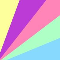 5 couleurs assorties (jaune, vert, bleu, lilas et rose. +1,00€)