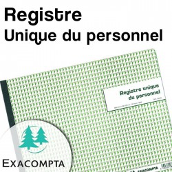 Registre Unique du personnel - Exacompta