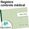 Registre contrôle medical - Exacompta