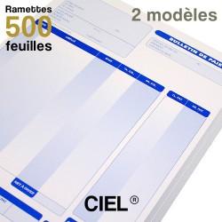 Bulletins de paie - CIEL - Ramettes de 500 feuilles