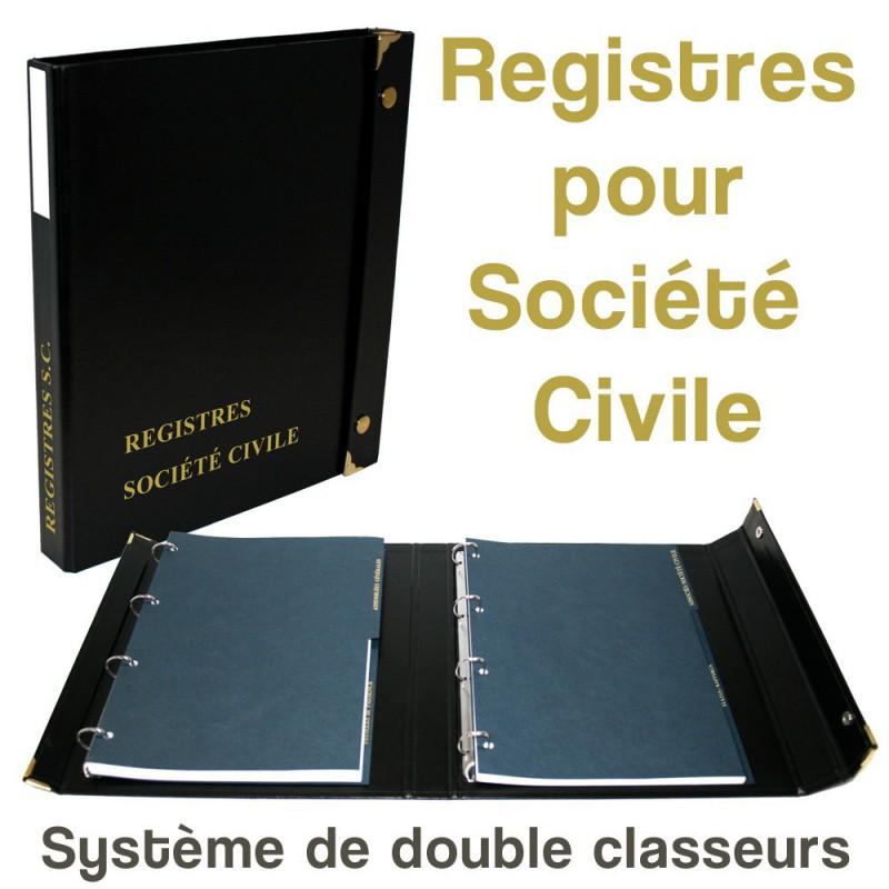 Registres pour Société Civile
