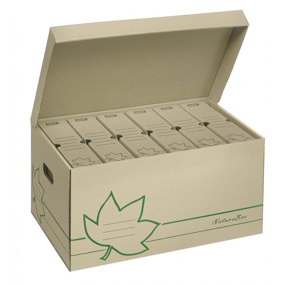 Caisses à archives - Nature Line - Lot de 10 caisses