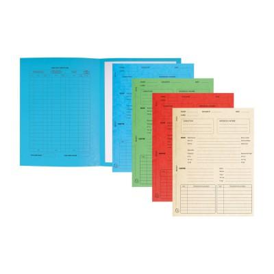 Dossiers de procédure - paquet de 25 dossiers