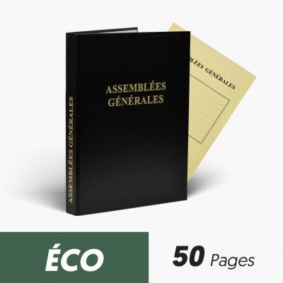 Registres Assemblées Générales 50 pages Eco