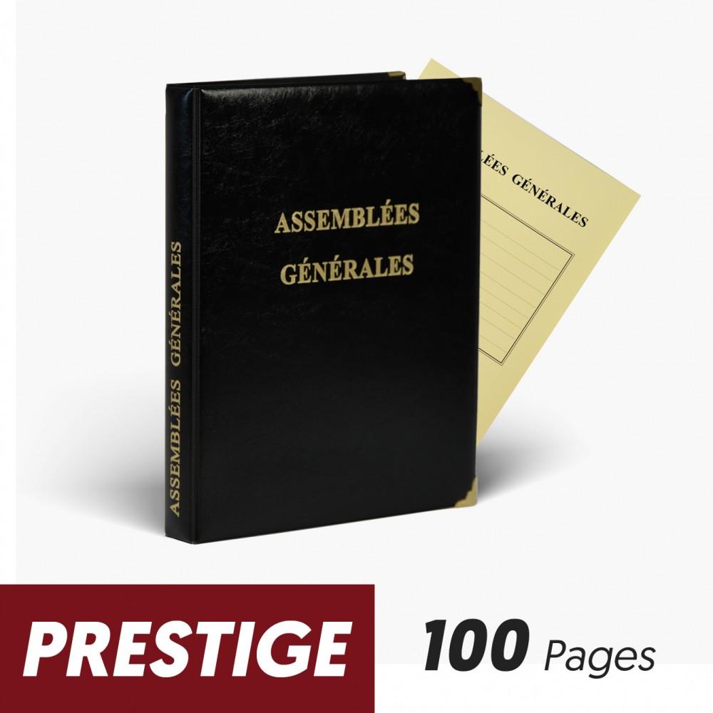 Registres Assemblées Générales 100 pages Prestige