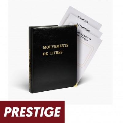 Registres Mouvements de Titres Prestige