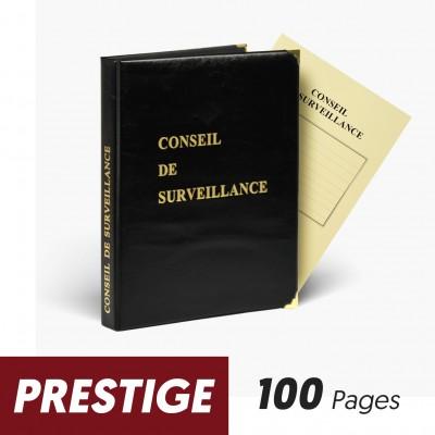 Registres Conseils de Surveillance 100 pages Prestige