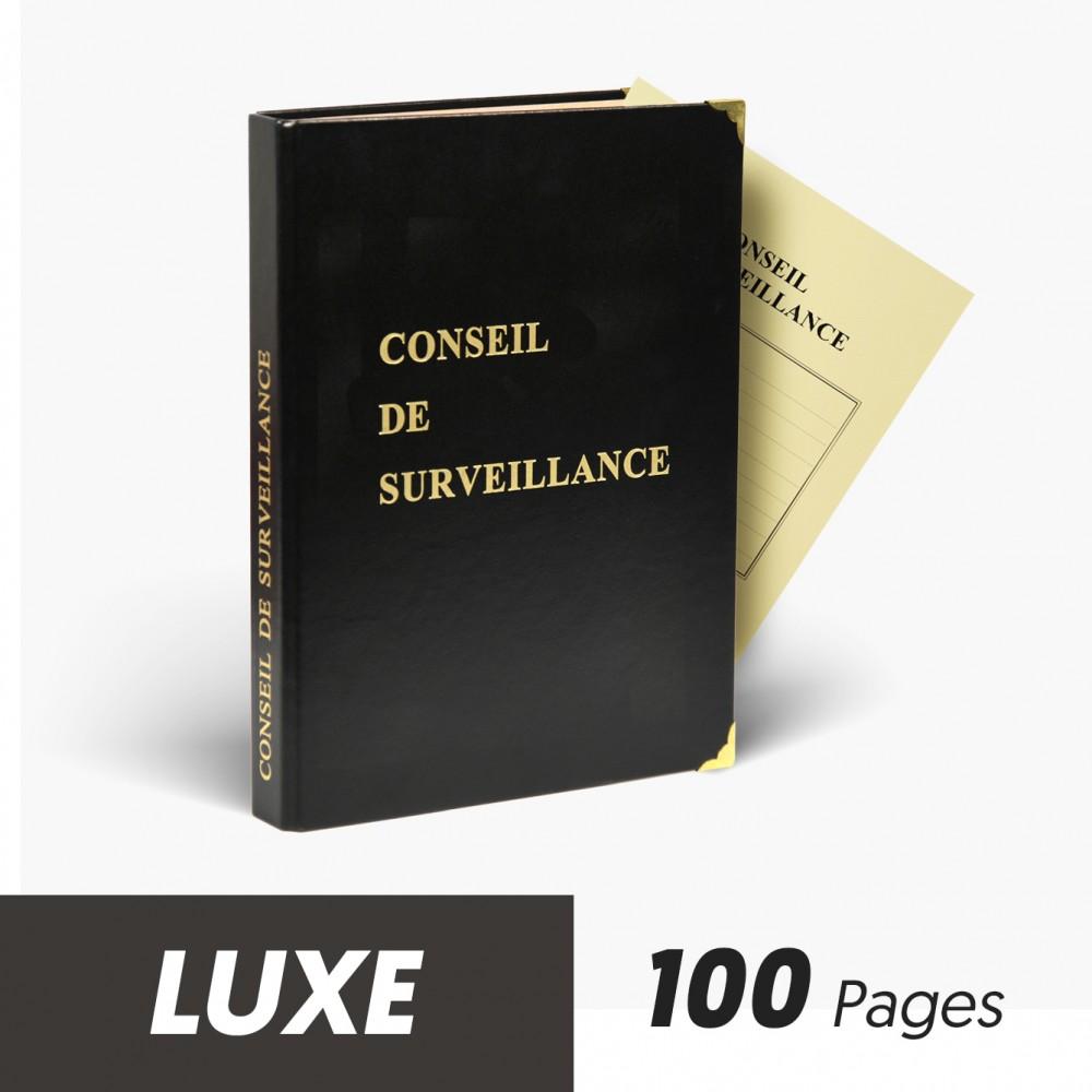 Registres Conseils de Surveillance 100 pages Luxe