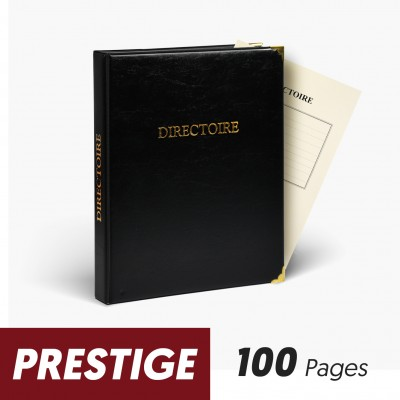 Registres Directoire 100 pages Prestige