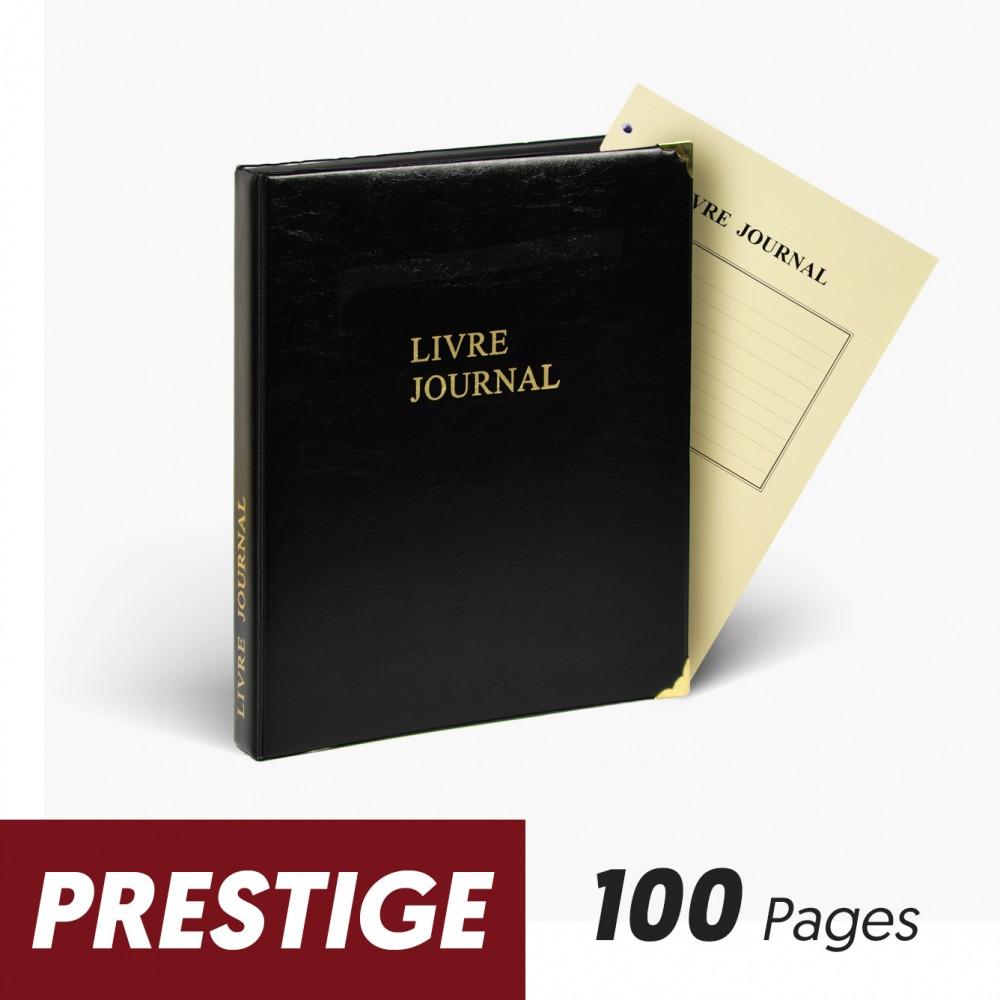 Registres Livre Journal 100 pages Prestige