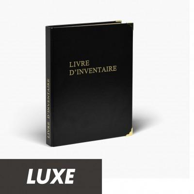 Registres Livre d'Inventaire 100 pages Luxe
