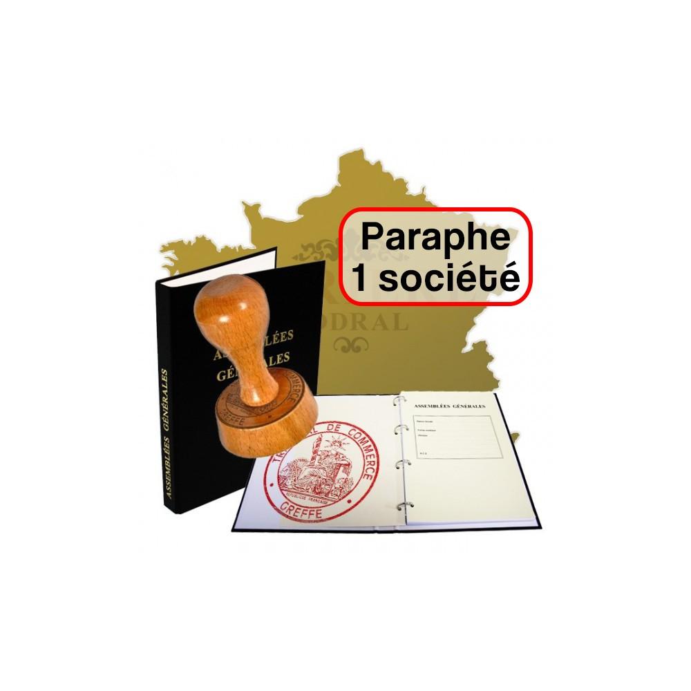 Paraphes de Registres