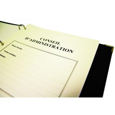 Registres Conseils d'Administration 100 pages Prestige