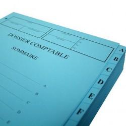 Dossier Comptable - Vendu par lot de 10 dossiers